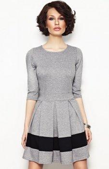 Vera Fashion Elodie sukienka szara