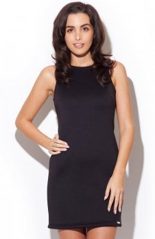 Katrus K243 sukienka czarna