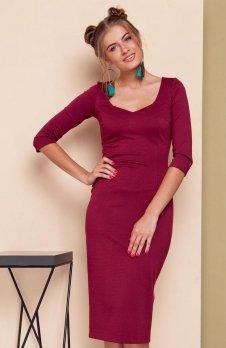 Cover GR1538 sukienka winna