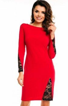 Awama A128 sukienka czerwona