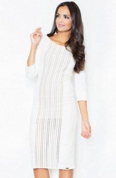 Figl M411 sukienka ecru