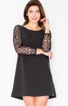 Figl M470 sukienka czarna