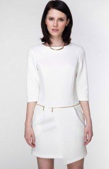 Ambigante ASU0009 sukienka kremowa