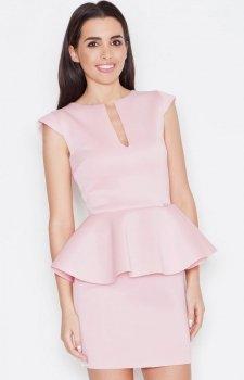 Katrus K273 sukienka róż