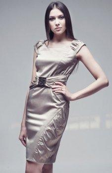 Vera Fashion Bianka sukienka cappucino