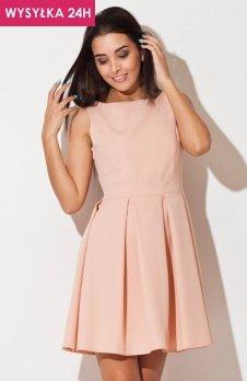 *Katrus K128 sukienka różowa
