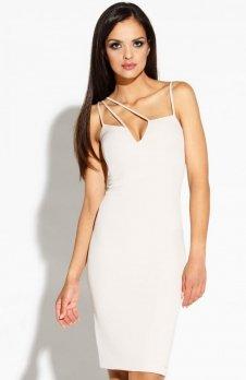 Dursi Royale sukienka beżowa