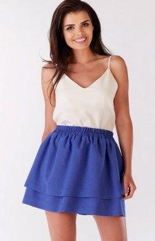 Awama A179 spódnica niebieska
