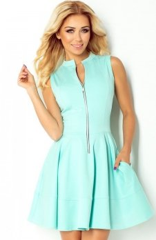 SAF 123-7 sukienka miętowa