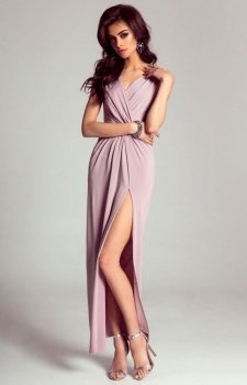 Ivon Dalia sukienka liliowa