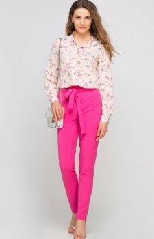 Lanti SD113 spodnie różowe