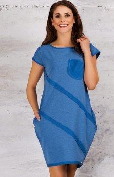 Infinite You M058 sukienka niebieska