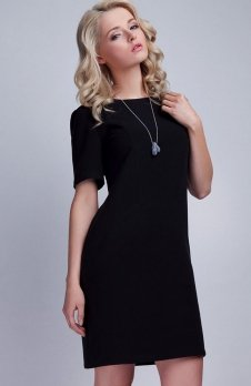 Lanti SUK118 sukienka czarna