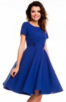 Awama A135 sukienka niebieska