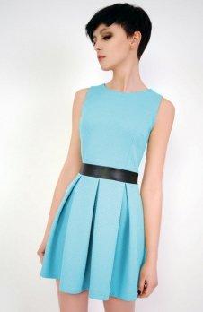 Vera Fashion Madelaine sukienka turkusowa