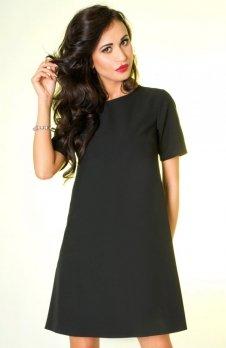 Ivon P17 sukienka czarna