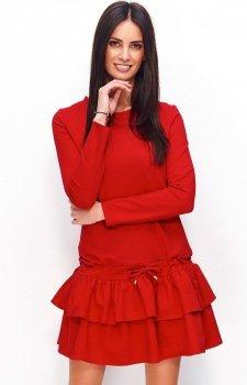 Numinou NU76 sukienka czerwona