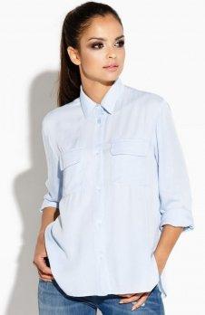 Dursi Talia koszula błękitna