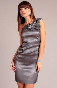 Vera Fashion Kaja sukienka srebrna