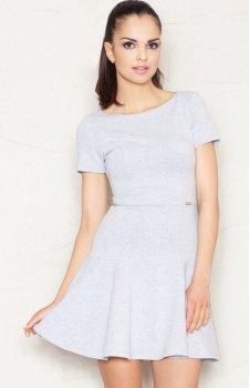 Figl M363 sukienka szara