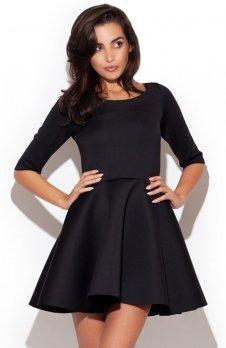 Katrus K227 sukienka czarna