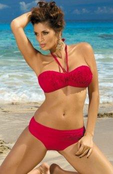 Marko Kostium kąpielowy Virginia Rossa Passione M-206 Czerwony (30)