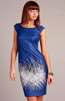 Vera Fashion Denise sukienka niebieska