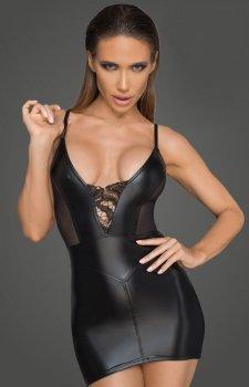 Dopasowana mini sukienka erotyczna F205