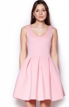 Figl M344 sukienka róż
