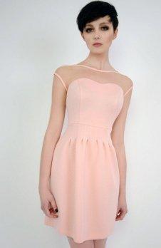Vera Fashion Catherine sukienka pudrowa