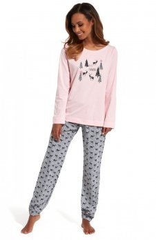 Cornette 627/132 It's Snowing piżama