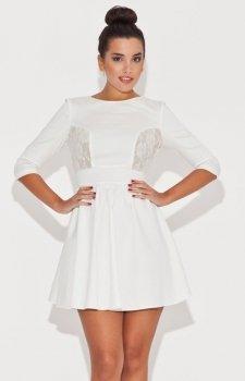 Katrus K068 sukienka ecru