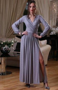 Roco 0227 sukienka szara