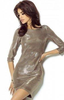 Ivon Cleo sukienka złota