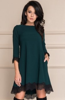 Roco 0117 sukienka zielona
