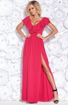 Bicotone 2152-07 sukienka fuksja