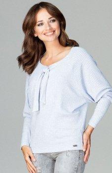 Lenitif K469 sweter błękitny