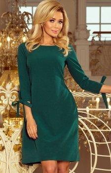 Numoco 195-1 Alice sukienka zielona
