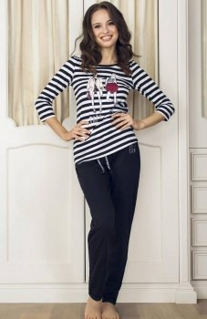 Esotiq Dotty 33536-99X piżama czarna