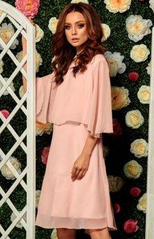 Lemoniade L261 sukienka pudrowy róż