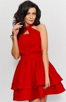 *Roco 0202 sukienka czerwona