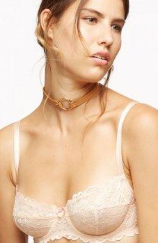 Bijoux Indiscrets MAZE chocker brązowy