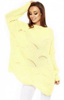 Lemoniade LS209 sweter cytrynowy