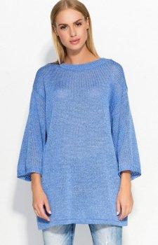 Makadamia S40 sweter niebieski