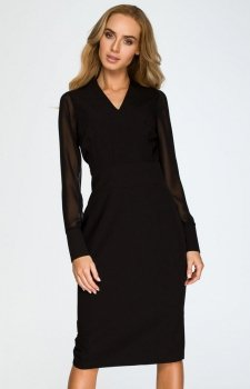 Style S136 sukienka czarna