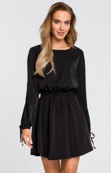 Moe M426 sukienka czarna