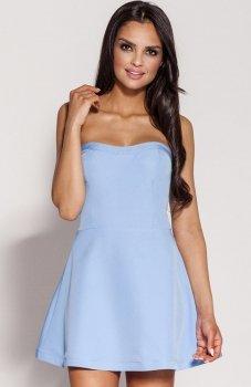 Dursi Fabi sukienka błękitna