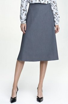 Nife SP30 spódnica szara