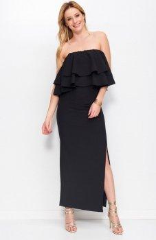 Makadamia M399 sukienka czarna