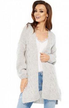 Lemoniade LS211 sweter szary